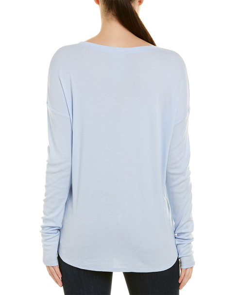 Heather Shirttail Hem Top~1411113451