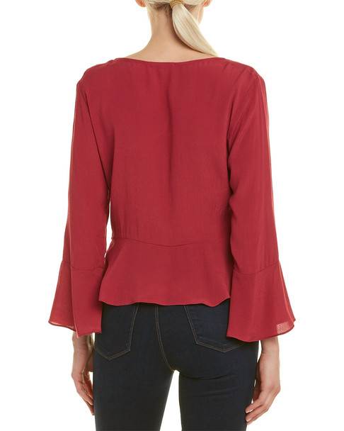 Willow & Clay Tie-Front Top~1411140506