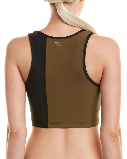C&C California Colorblocked Cropped Tank~1411148218