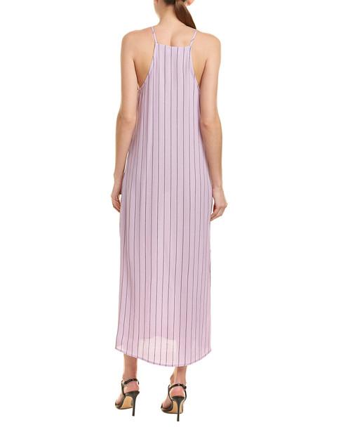 City Sleek Striped Maxi Dress~1411157892