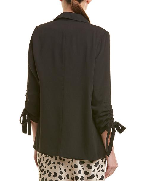 City Sleek Open Front Jacket~1411157900