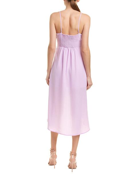 City Sleek High-Low Midi Dress~1411157925