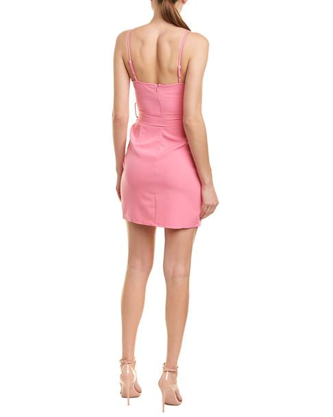 City Sleek Belted Mini Dress~1411157928