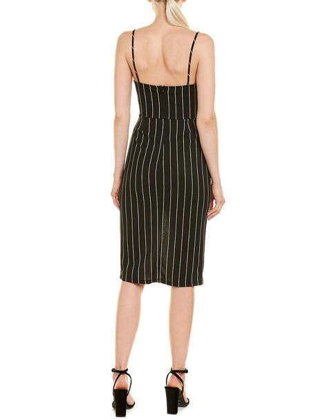 Rosewater Remi Striped Midi Dress~1411157947