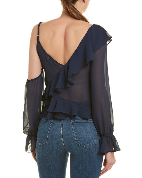 Harper Cold-Shoulder Top~1411161125