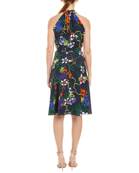 Karen Millen Midi Silk Dress~1411176104