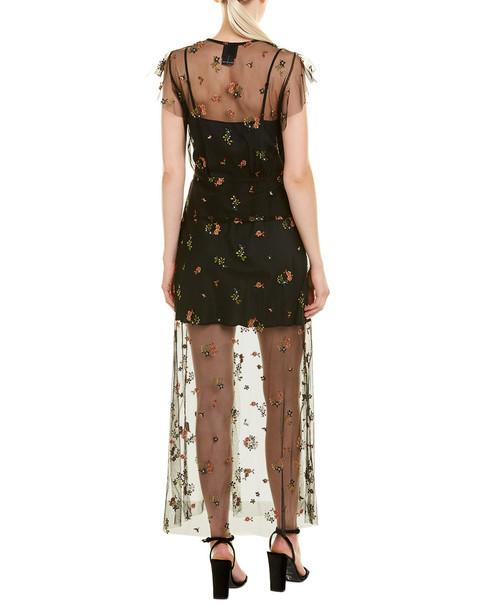 Anna Sui Embroidered Maxi Dress~1411412088