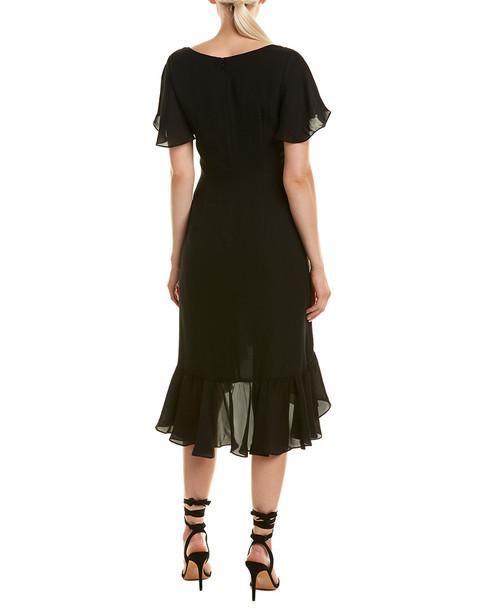 Cinq a Sept Mateo Silk Midi Dress~1411427656