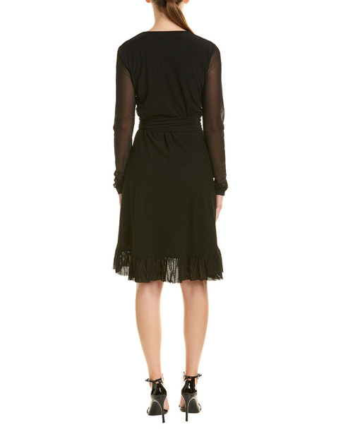 GANNI Addison Wrap Dress~1411825396