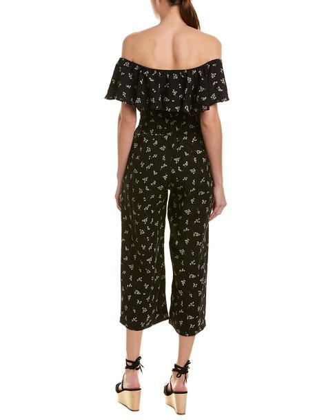 Winston White Blossom Linen Jumpsuit~1411844203