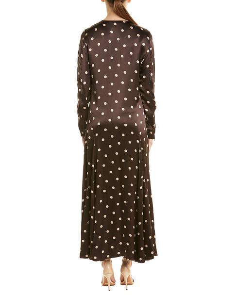 GANNI Cameron Midi Dress~1411846464