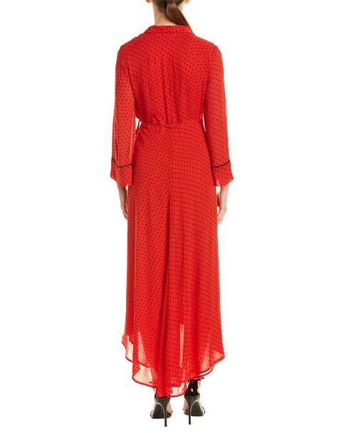 GANNI Vestaglia Wrap Dress~1411921090