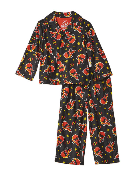 Character Sleepwear The Incredibles 2pc Pajama Set~1511134908