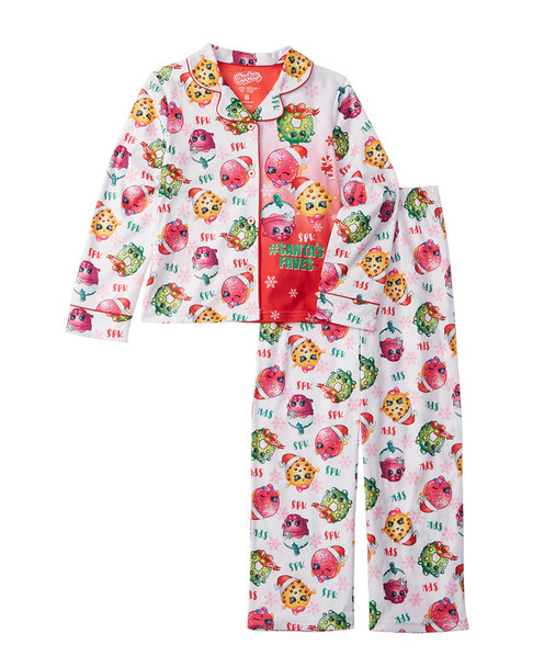 Character Sleepwear Shopkins 2pc Pajama Set~1511134936