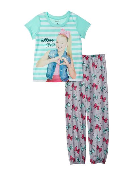 Character Sleepwear JoJo Siwa 2pc Pajama Set~1511135033