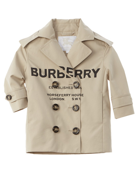 Burberry Horseferry Print Trench Coat~1511223229