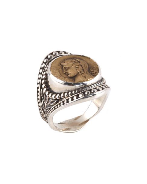 Konstantino Kerma Silver Ring~6030149834