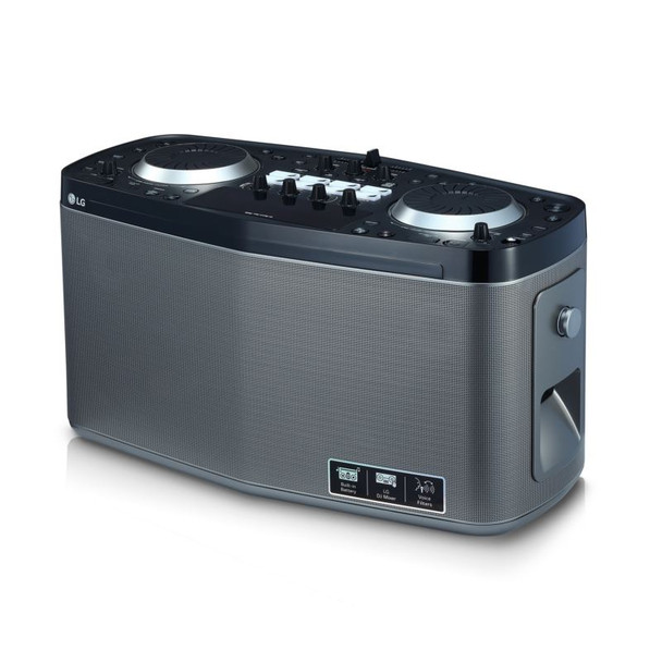 LOUDR Portable Entertainment System with 100W Total Output Power~LGK-RK8