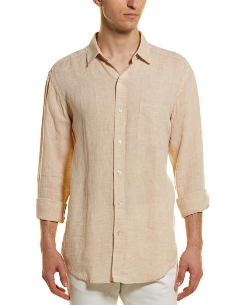 J.McLaughlin Gramercy Linen Woven Shirt~1010178265