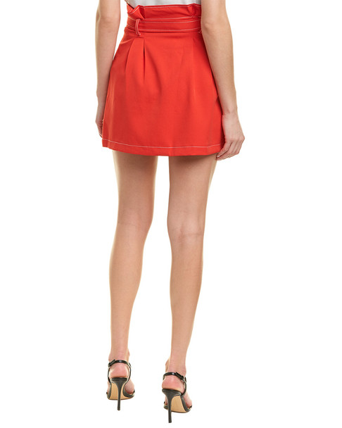 City Sleek Front Button Skirt~1411157891