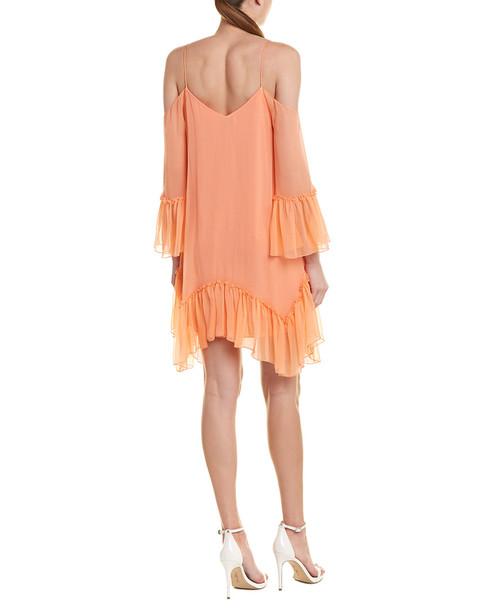 alice + olivia Ilaria Silk Shift Dress~1411896355