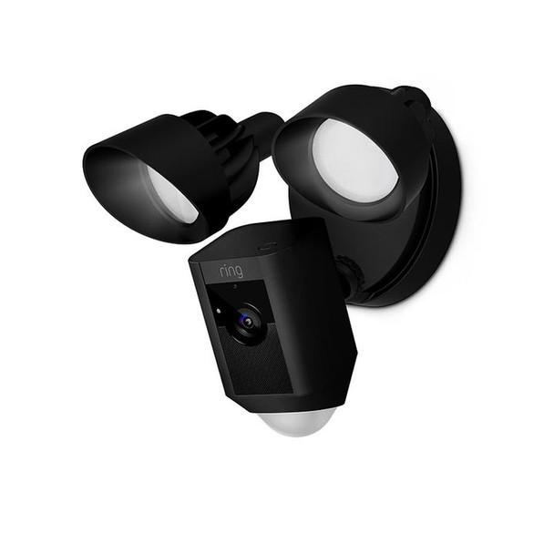 Floodlight 1080p Security Camera - Black~RIN-88FL001CH000