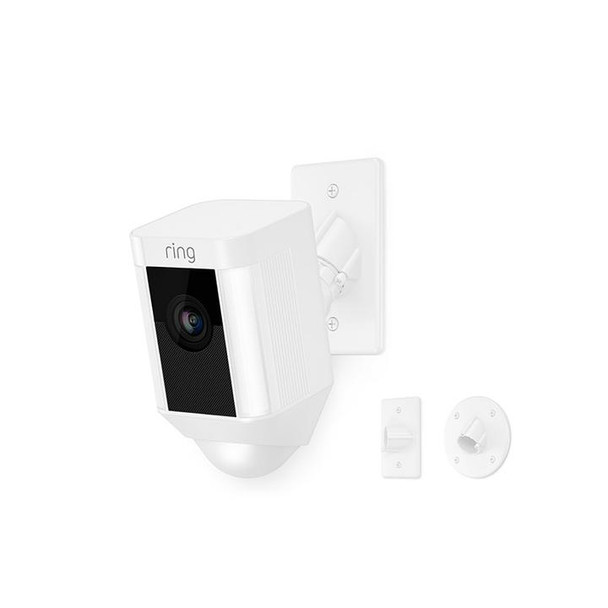 Spotlight 1080p Security Camera with Mount - White~RIN-8SH5P7WEN0