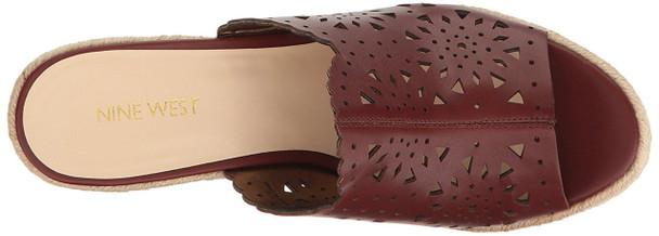 Nine West Womens derek Leather Open Toe Casual Platform Sandals~pp-0fe3671d