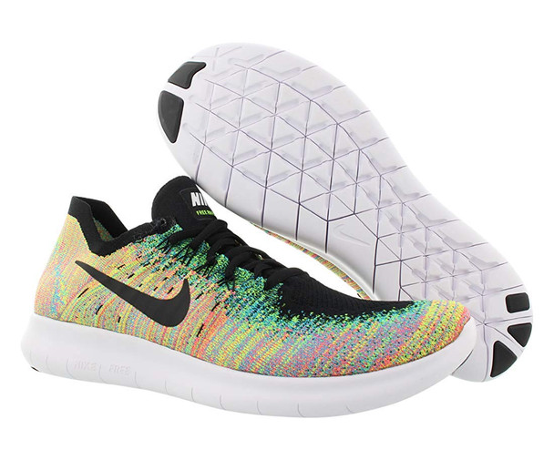 Nike Mens Free RN Flyknoit 2017 Low Top Lace Up Trail Running Shoes~pp-162fd27b