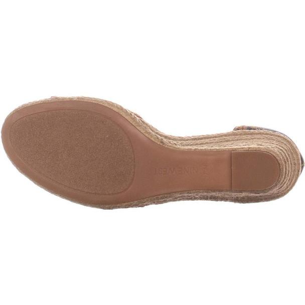 Nine West Womens Jeranna Fabric Open Toe Casual Platform Sandals~pp-33122a35