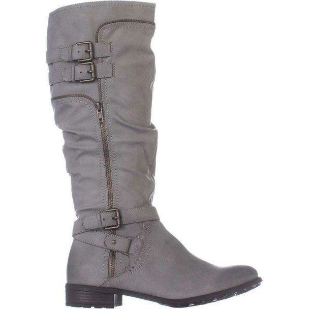 White Mountain Womens Remi Round Toe Knee High Fashion Boots~pp-3aad793b