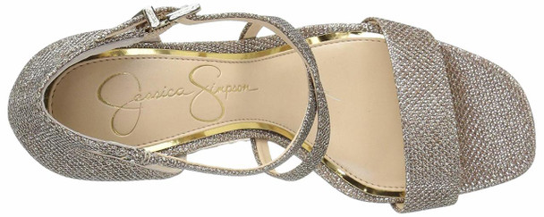 Jessica Simpson Womens Stassi Open Toe Special Occasion Ankle Strap Sandals~pp-452ed423