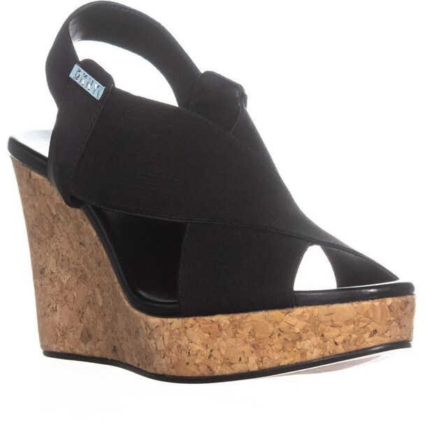 DKNY Womens Jamara Open Toe Casual Platform Sandals~pp-4b636377