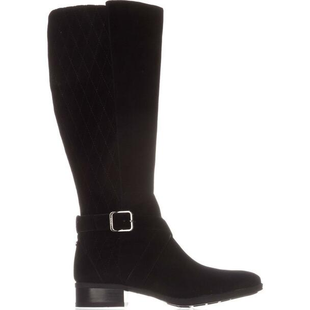 DKNY Womens Mattie Suede Closed Toe Knee High Fashion Boots~pp-52b1820e