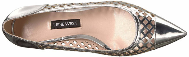 Nine West Women's Quanessa Synthetic Pump~pp-5cc90991