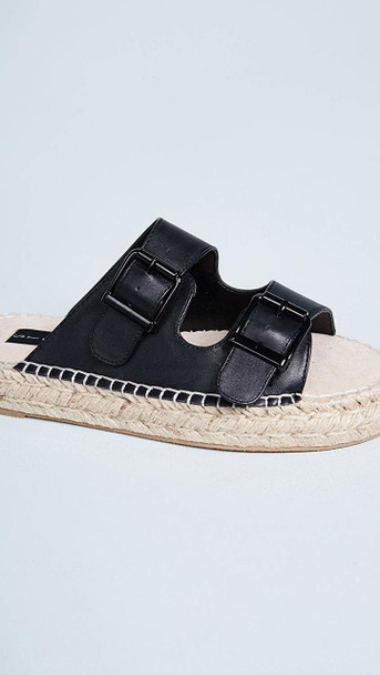 Steven by Steve Madden Womens Lapis Leather Open Toe Casual Espadrille Sandals~pp-632515fc