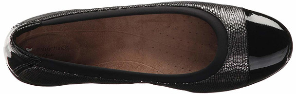 CLARKS Womens Neenah Garden Leather Closed Toe Ballet Flats~pp-72b2d9a5