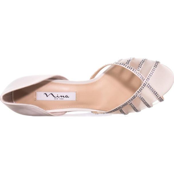 Nina Womens Corita Leather Open Toe Casual Espadrille Sandals~pp-7b0ae2b6
