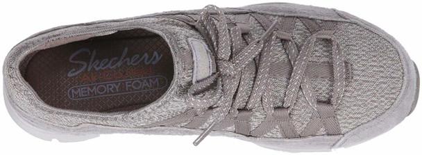 Skechers Women's Seager-Zip Line-Fixed Bow Quarter Fit Slip-on Sneaker~pp-81ae274c