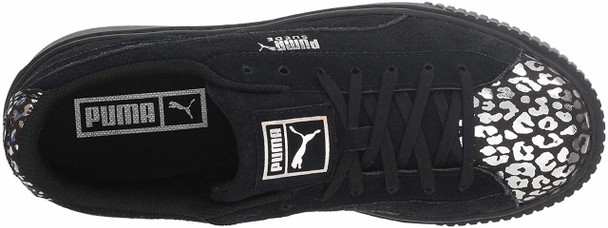 Kids Puma Girls Platform Athluxe PS Suede Low Top Lace Up Fashion Sneaker~pp-821e5d1a