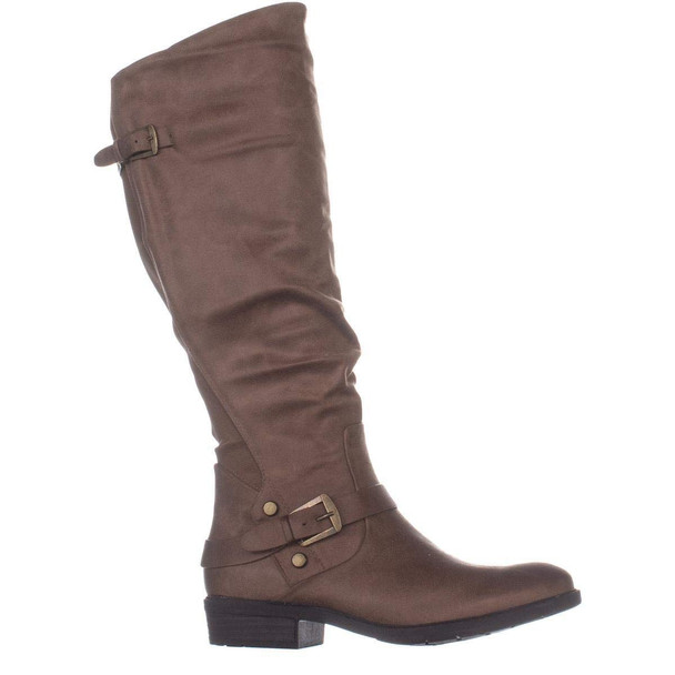 Bare Traps Womens Yanessa Almond Toe Knee High Fashion Boots~pp-83777654