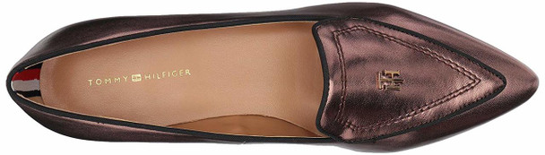 Tommy Hilfiger Womens Harvard Leather Pointed Toe Loafers~pp-8bbb3ff0
