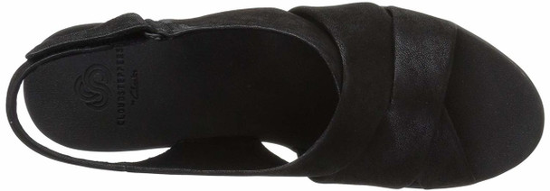 Clarks Womens Caddell Petal Fabric Open Toe Casual Slingback Sandals~pp-90be058e