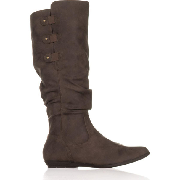 Cliffs by White Mountain Womens Felisa Almond Toe Knee High Fashion Boots~pp-9550baa4