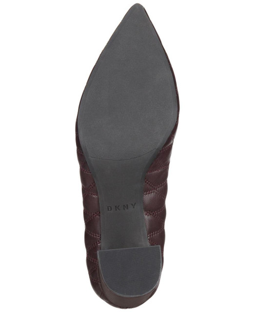 DKNY Womens Elia Leather Pointed Toe Classic Pumps~pp-99a25050