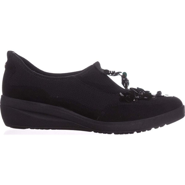 Anne Klein Womens Yael Fabric Low Top Slip On Fashion Sneakers~pp-9c03d862