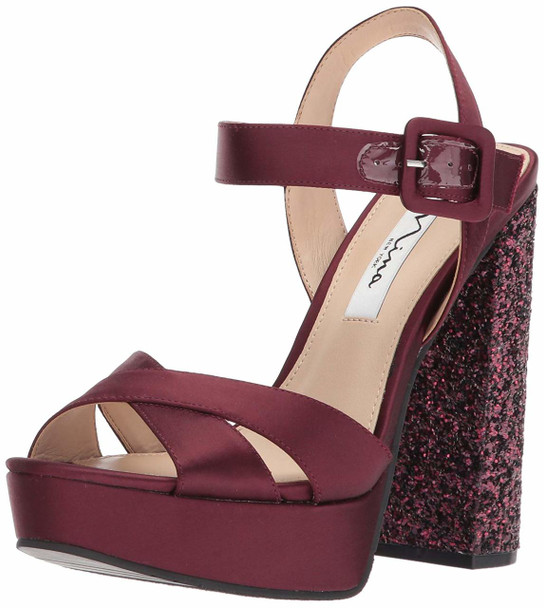 Nina Womens savita Open Toe Casual Slingback Sandals~pp-a4292cac