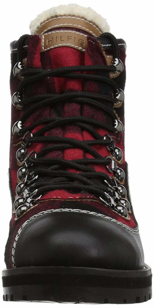 Tommy Hilfiger Womens Tonny2 Fabric Cap Toe Ankle Combat Boots~pp-a4d70409