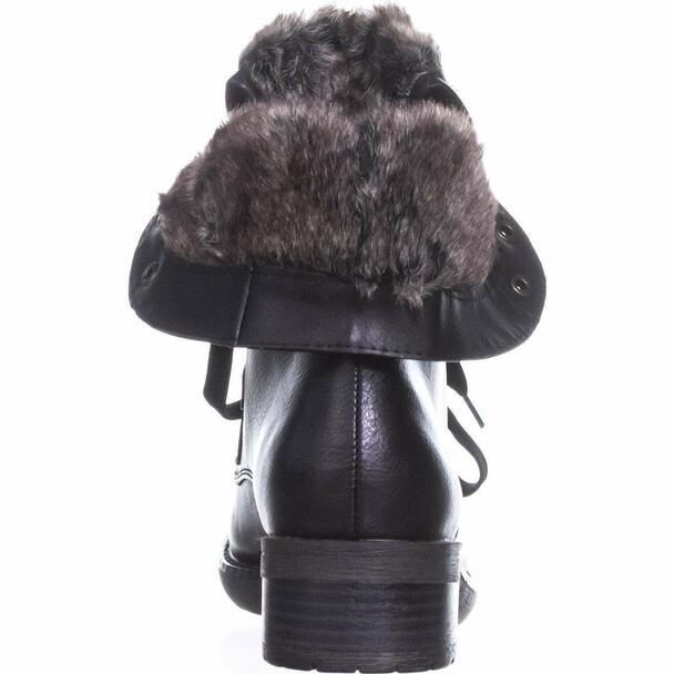 BareTraps Womens Henriette Faux Leather Convertible Combat Boots~pp-ae9f0e77