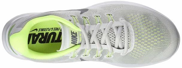 Nike Womens Nike flex 2017 RN Fabric Low Top Lace Up Running Sneaker~pp-afa2646a